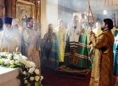 Проповедь Святейшего Патриарха Кирилла в день памяти святителя Алексия, митрополита Московского, в Богоявленском кафедральном соборе