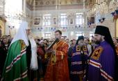 Слово Святейшего Патриарха Кирилла при вручении архиерейского жезла Преосвященному Диодору (Исаеву), епископу Мелекесскому и Чердаклинскому