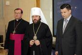 Состоялась пресс-конференция по итогам заседания Христианского межконфессионального консультативного комитета