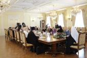 Слово Святейшего Патриарха Кирилла на встрече с делегацией Всеукраинской общественной организации «Союз православных женщин»
