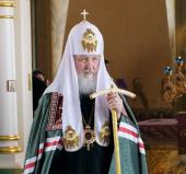 Проповедь Святейшего Патриарха Кирилла в неделю 4-ю Великого поста в Богородице-Рождественском монастыре