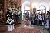 Проповедь Святейшего Патриарха Кирилла в Великий вторник в Высоко-Петровском монастыре