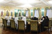 ЖУРНАЛЫ заседания Священного Синода от 30 января 2013 года