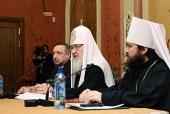 Выступление Святейшего Патриарха Кирилла на заседании Наблюдательного совета Общецерковной аспирантуры и докторантуры