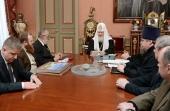 Предстоятель Русской Церкви встретился с участниками Патриаршего проекта «Русская Арктика»