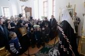 Слово Святейшего Патриарха Кирилла в четверг первой седмицы Великого поста после утреннего богослужения в Борисоглебском Аносином женском монастыре