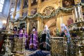 Слово Святейшего Патриарха Кирилла в субботу первой седмицы Великого поста после Божественной литургии в храме святителя Николая в Хамовниках