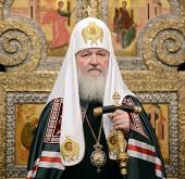 Слово Святейшего Патриарха Кирилла в канун недели Торжества Православия после всенощного бдения в Сретенском монастыре