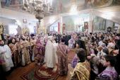 Слово Патриарха Кирилла при вручении архиерейского жезла Преосвященному Силуану (Вьюрову), епископу Колпашевскому и Стрижевскому