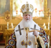 Патриаршее слово в день памяти святителя Алексия Московского в Богоявленском кафедральном соборе г. Москвы