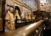 Проповедь Святейшего Патриарха Кирилла в Прощеное воскресенье в Успенском соборе Московского Кремля