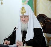 Слово Святейшего Патриарха Кирилла на заседании Высшего Церковного Совета Русской Православной Церкви 30 ноября 2012 года