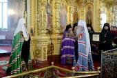 Слово Святейшего Патриарха Кирилла в день памяти св. Александра Невского после Литургии в Александро-Невском соборе г. Егорьевска