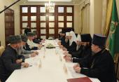 Слово Святейшего Патриарха Кирилла на встрече с муфтиями регионов, входящих в состав Северо-Кавказского федерального округа