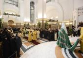 Слово Святейшего Патриарха Кирилла по окончании всенощного бдения в кафедральном соборе Христа Спасителя в Калининграде