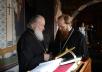 Патриаршее служение во вторник первой седмицы Великого поста в Новоспасском ставропигиальном монастыре