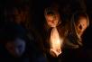 Патриаршее служение во вторник первой седмицы Великого поста. Чтение канона прп. Андрея Критского в Богоявленском кафедральном соборе в Елохове
