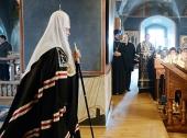 Проповедь Святейшего Патриарха Кирилла во вторник первой седмицы Великого поста в Новоспасском монастыре