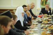 Вступительное слово Святейшего Патриарха Кирилла на встрече с выдающимися российскими спортсменами