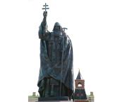Памятник священномученику Ермогену, патриарху Московскому и всея России, в Александровском саду Московского Кремля