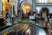 Патриаршая проповедь в среду первой седмицы Великого поста в Храме Христа Спасителя в Москве