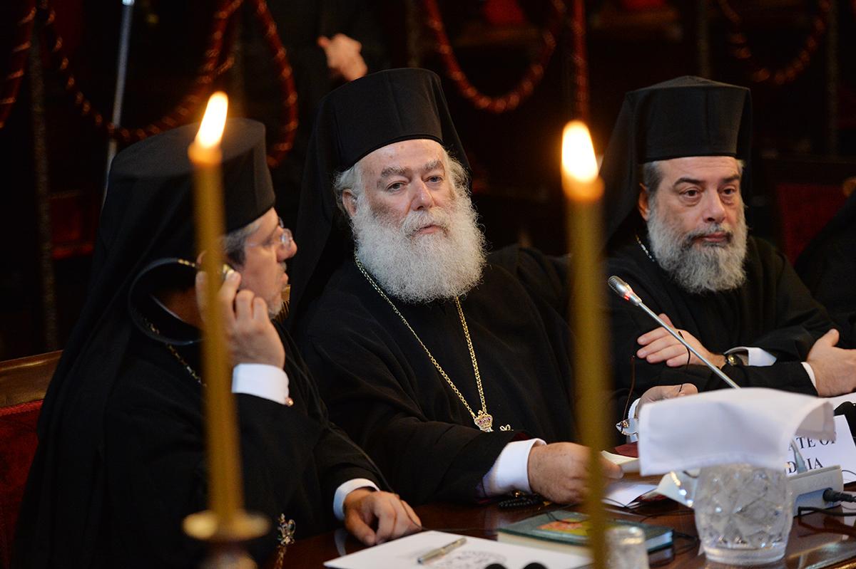 Визит Святейшего Патриарха Кирилла в Константинопольский Патриархат. Первое заседание синаксиса Предстоятелей и представителей Поместных Православных Церквей