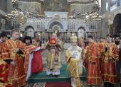 Предстоятели Иерусалимской и Русской Православных Церквей совершили освящение Никольского Морского собора в Кронштадте