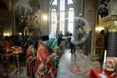 Святейший Патриарх Кирилл освятил домовый храм Дома ветеранов сцены в Петербурге