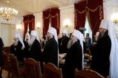 В Петербурге завершилось очередное заседание Священного Синода Русской Православной Церкви