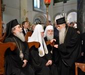 Второй день Синаксиса Предстоятелей Православных Церквей завершился общей молитвой в стамбульском храме Архангелов