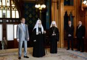 В Министерстве иностранных дел России прошел прием по случаю православной Пасхи
