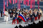 Приветствие Святейшего Патриарха Кирилла членам сборной команды России на XI Паралимпийских играх в Сочи