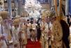 Визит Святейшего Патриарха Кирилла в Константинопольский Патриархат. Божественная литургия в неделю Торжества Православия в кафедральном соборе великомученика Георгия Победоносца на Фанаре