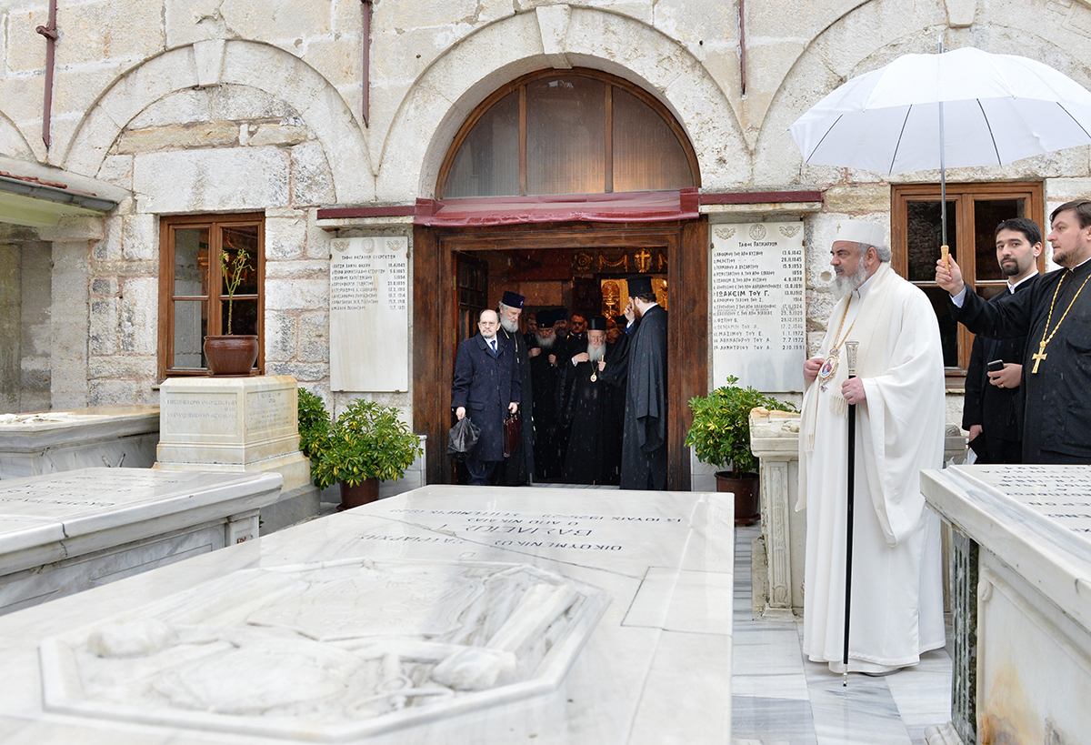 Визит Святейшего Патриарха Кирилла в Константинопольский Патриархат. Третий день работы синаксиса Предстоятелей и представителей Поместных Православных Церквей