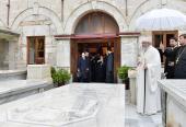 Предстоятели Поместных Православных Церквей молитвенно почтили память почивших Константинопольских Патриархов