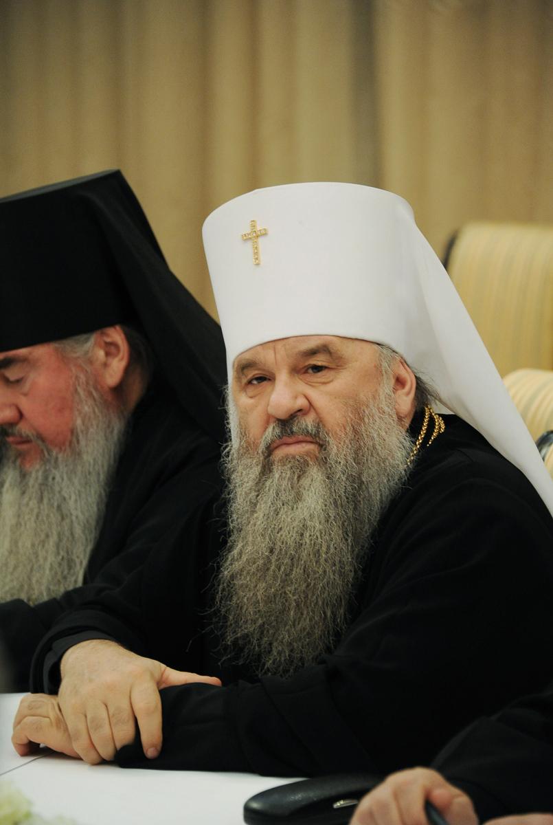 Патриарший визит в Ставропольскую митрополию. Встреча с муфтиями Северного Кавказа