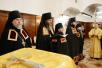 Наречение архимандрита Феодора (Белкова) во епископа Алатырского, архимандрита Паисия (Кузнецова) во епископа Яранского и архимандрита Даниила (Кузнецова) во епископа Уржумского