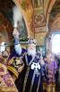 Патриаршее служение в неделю 2-ю Великого поста в храме Рождества Пресвятой Богородицы в Крылатском г. Москвы. Хиротония архимандрита Григория (Петрова) во епископа Троицкого и Южноуральского
