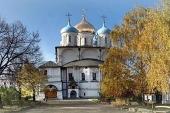 В Новоспасский монастырь г. Москвы принесен чтимый список Толгской иконы Божией Матери
