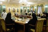 ЖУРНАЛЫ заседания Священного Синода от 19 марта 2014 года