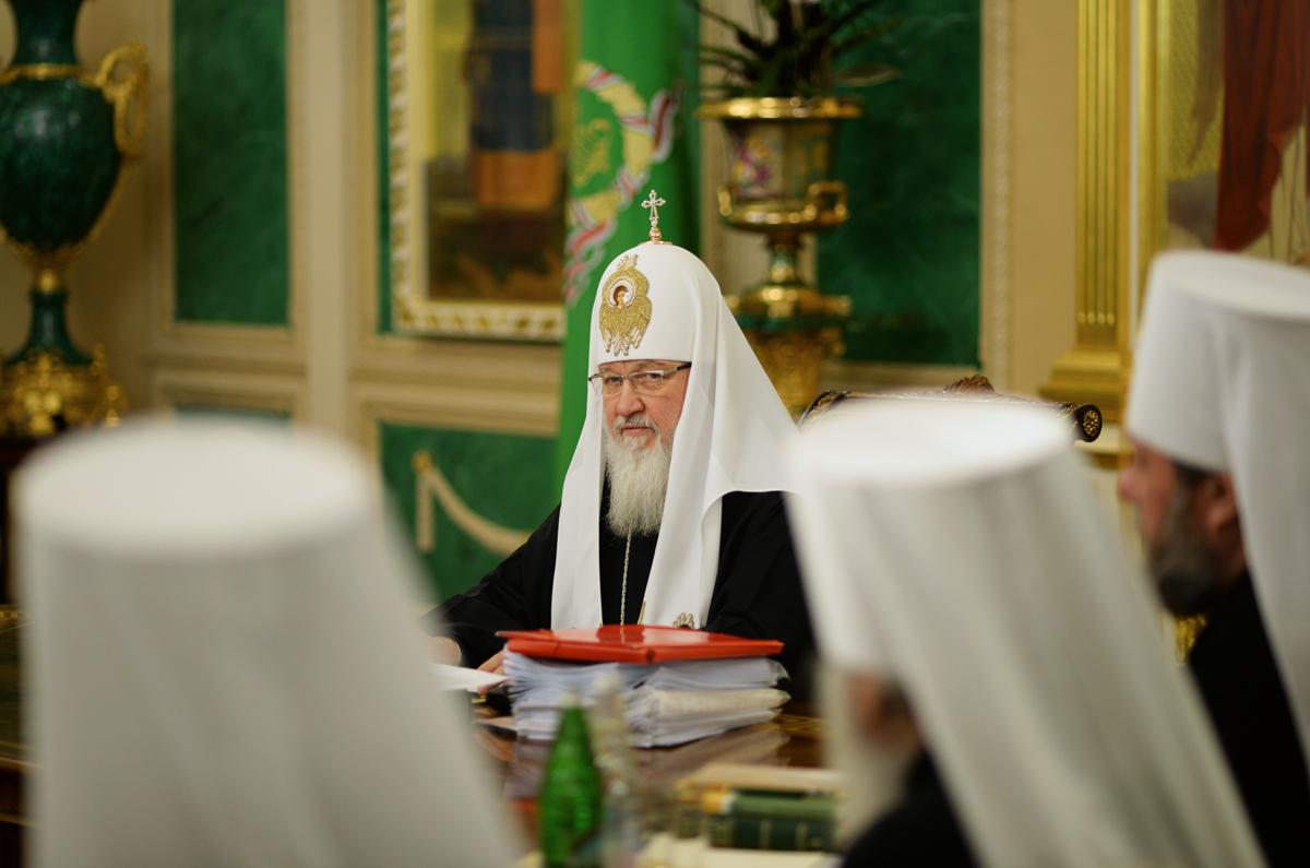 Заседание Священного Синода Русской Православной Церкви 19 марта 2014 года