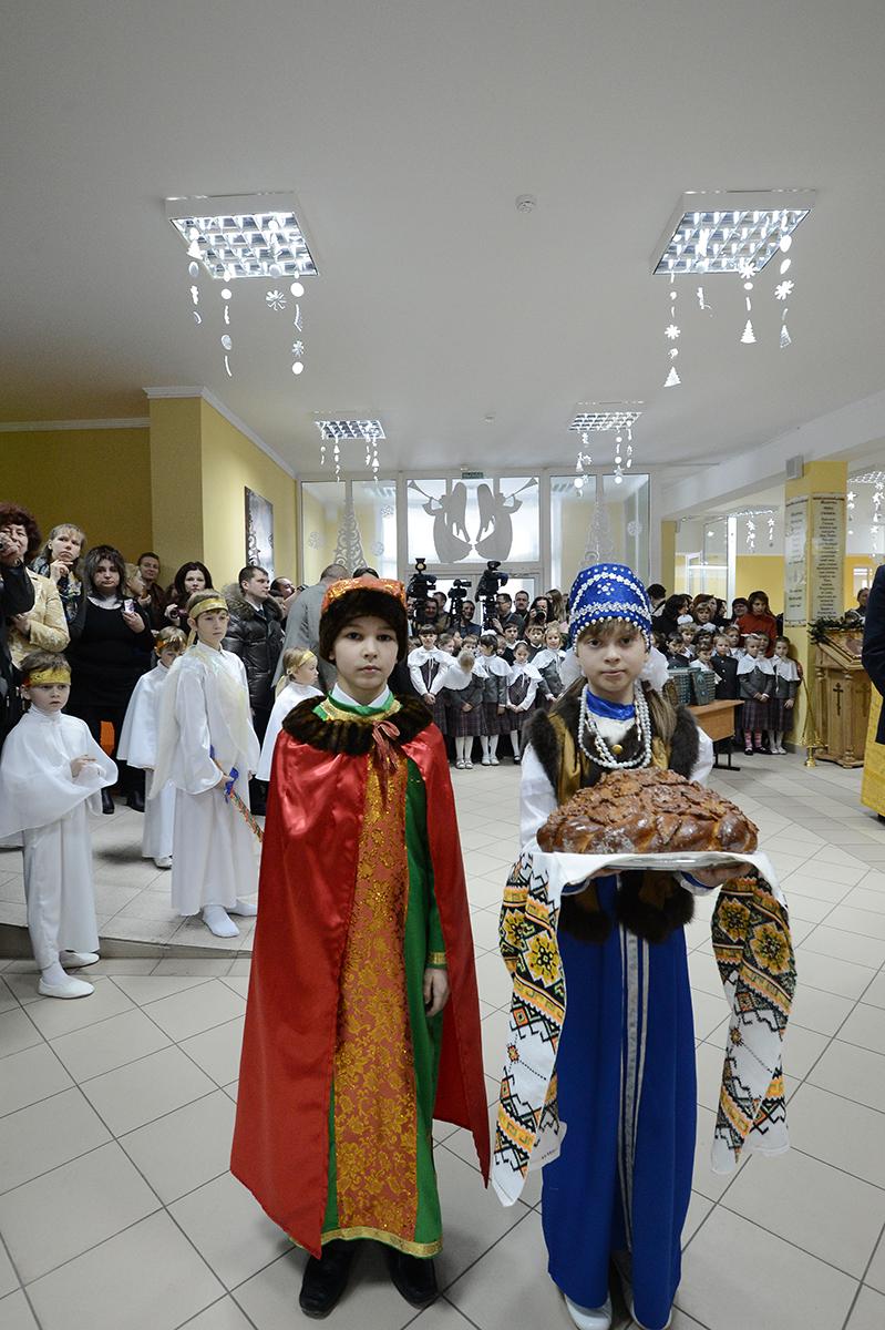 Первосвятительская поездка в Калининградскую епархию. Освящение нового корпуса гимназии при соборе Христа Спасителя в Калининграде