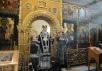 Патриаршее служение в среду 4-й седмицы Великого поста в московском храме апостола Иоанна Богослова на Бронной