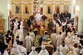 Состоялось отпевание и погребение митрополита Прокла (Хазова)