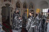 Игумен Нестор (Люберанский), избранный епископом Кузнецким и Никольским, возведен в сан архимандрита