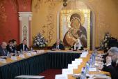 Предстоятель Русской Церкви возглавил четвертое заседание Попечительского совета Фонда поддержки строительства храмов г. Москвы
