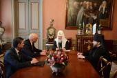Святейший Патриарх Кирилл встретился с директором ФСИН России Г.А. Корниенко