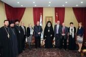Блаженнейший Патриарх Антиохийский Иоанн принял делегацию из России