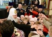 Святейший Патриарх Кирилл посетил Павловский кафедральный собор Гатчинской епархии