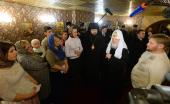 Святейший Патриарх Кирилл встретился с представителями фонда социального служения «Спас»